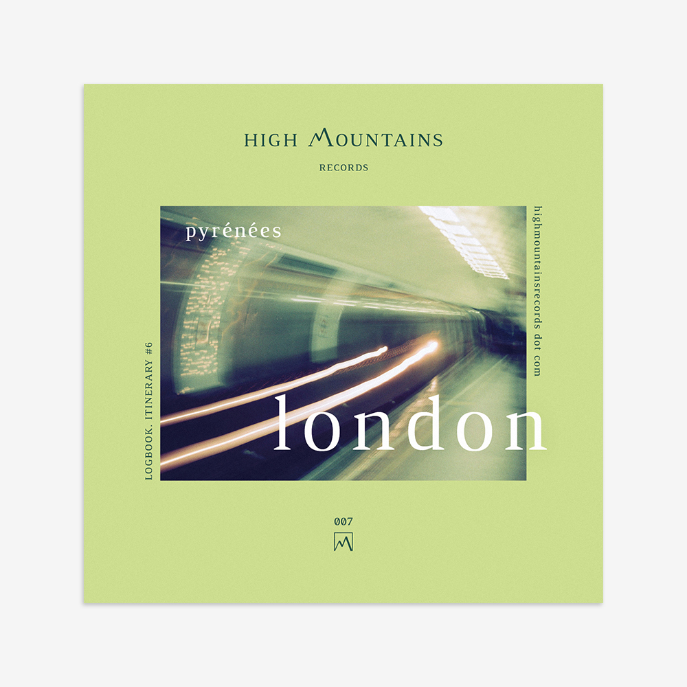 High Mountains Records Logbook London